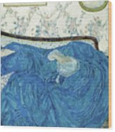 The Blue Gown, 1917  Wood Print