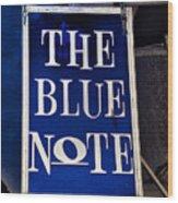 The Blue Note - Bourbon Street Wood Print
