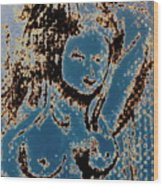 The Blue Nude Wood Print