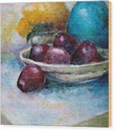 The Blue Vase Iv Wood Print