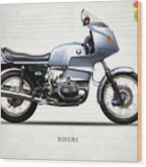 The R100rs Motorcycle 1977 Wood Print
