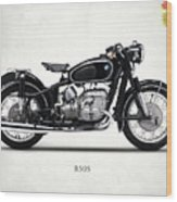 The R50s Motorcycle Wood Print