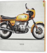 The R90s Motorcycle 1974 Wood Print