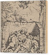 The Bodies Of Saints Peter And Paul Wood Print