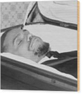 The Body Of Malcolm X, Slain Negro Wood Print by Everett