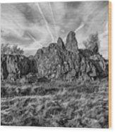 The Bomb Rocks Wood Print