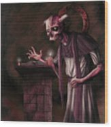 The Bone Priest Wood Print