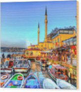 The Bosphorus Istanbul Wood Print