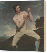 The Boxer Humphrie Wood Print