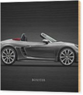 The Boxster Wood Print