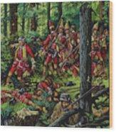 The Braddock Massacre Wood Print