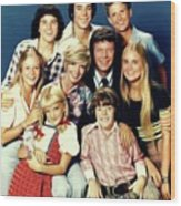 The Brady Bunch Wood Print