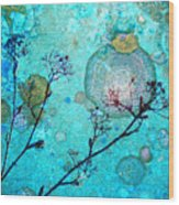 The Branches And The Moon Wood Print