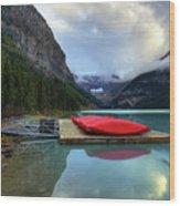 The Breathtakingly Beautiful Lake Louise IIi Wood Print