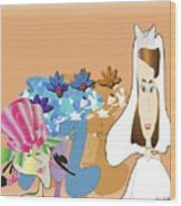 The Bridal Party Wood Print