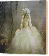 The Bride Wood Print