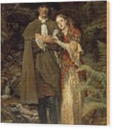 The Bride Of Lammermoor Wood Print