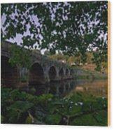 The Bridge At Inistogue Wood Print