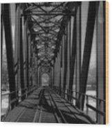 The Bridge At Mile 225 Wood Print
