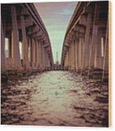 The Bridge II Wood Print