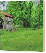 The Bridge Of Farmhouse Gallery Wood Print