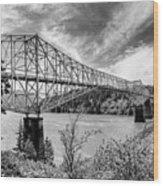 The Bridge Of The Gods Wood Print