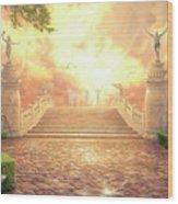 The Bridge Of Triumph Wood Print by Chuck Pinson