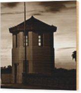 The Bridge Tenders Box Circa1926 Wood Print
