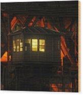 The Bridge Tenders House Wood Print