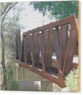 The Bridge To Home Wood Print