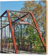 The Bridgetone Bridge Wood Print