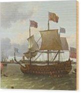 The Britannia In Rotterdam Wood Print