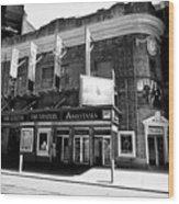 the Broadhurst theatre featuring anastasia musical New York City USA Wood Print