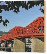 The Broadway Bridge Wood Print