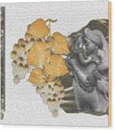 The Broken Wine Pot Wood Print