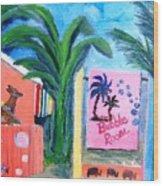 The Bubble Room Captiva Island Florida Wood Print