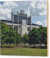 The Buckeye Grove Around Ohio Stadium Wood Print