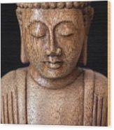 The Buddha Wood Print