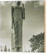 The Buddha Of Roi-et Wood Print