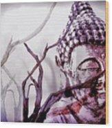 The Buddhist Sticks  Wood Print