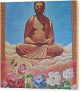 The Budha Wood Print
