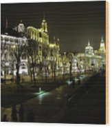 The Bund - Shanghai's Famous Waterfront Wood Print