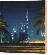 The Burj Khalifa  Wood Print