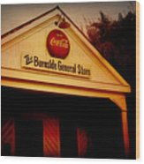 The Burnside General Store Wood Print