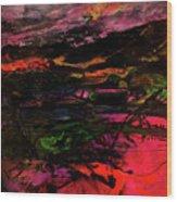 The Burren Co Clare Wood Print