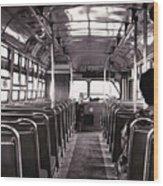 The Bus Wood Print