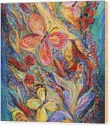 The Butterflies Wood Print