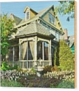 The Buttery Restaurant In Lewes Delaware Wood Print