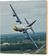 the C-130  Wood Print