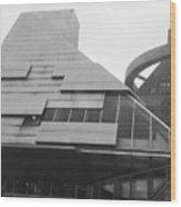 The California Building  Wood Print
